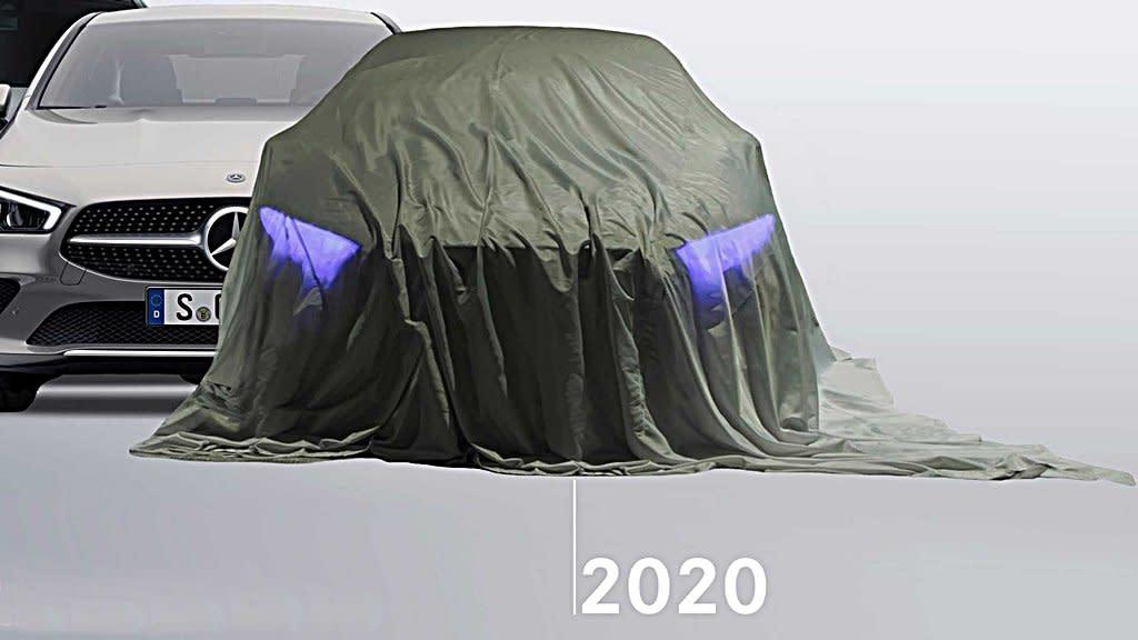 賓士全新EQS電動旗艦2020年將推出,將配備全新數位化照明系統