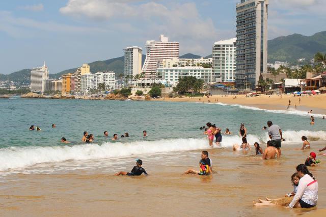 Aunque declaradas seguras para nadar, dos playas en Acapulco están entre las más contaminadas de México. (Getty Images)