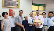 朱立倫市長拜訪模範父親陳青波 市長讚社會的好榜樣