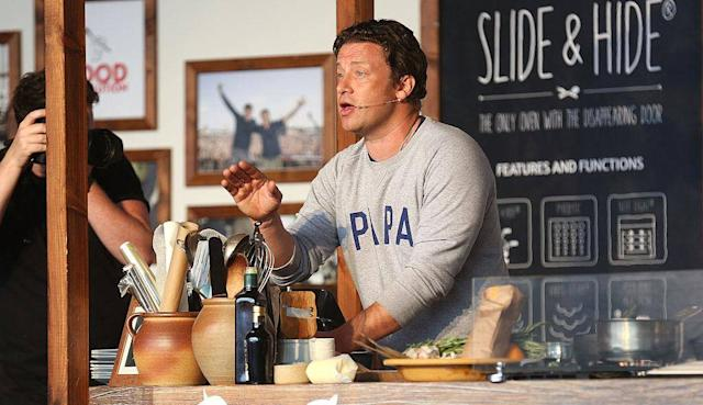 Jamie Oliver has dropped off the Rich List (Getty)