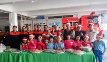 民和國小學子捐餐 屏縣消防員食分幸福