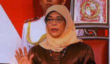 新加坡新任總統哈莉瑪宣誓就職 (圖)