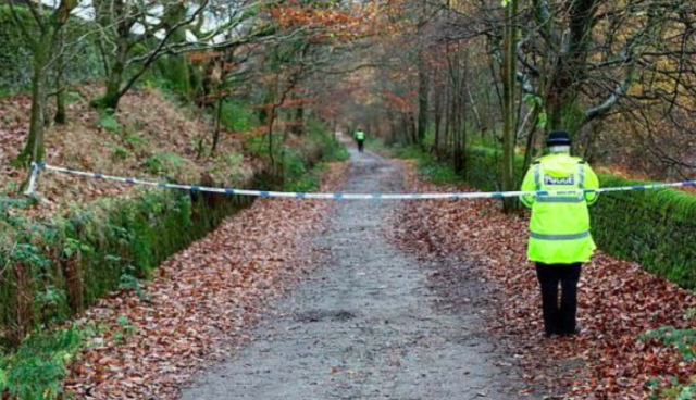 Their bodies were found at Valehouse Reservoir in the Derbyshire Peak District (SWNS)