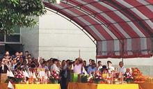 鴻海在土城總部舉辦中元普渡儀式(1) (圖)