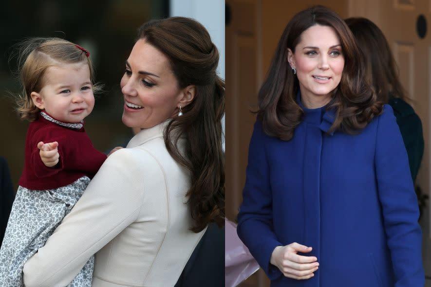 英國凱特王妃預產期4月!肢體語言掩藏不了她是絕頂好媽媽