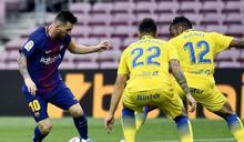 西甲》梅西2射1傳 巴塞隆納3-0擊敗拉斯帕爾馬斯獲7連勝