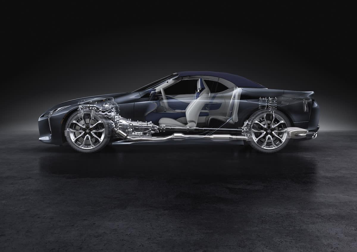 2019洛杉磯車展:絕美日系 GT 跑車返樸歸真,Lexus LC500 Convertible 世界首發!