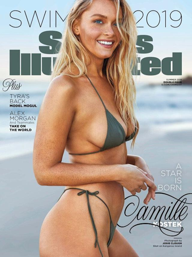'Sports Illustrated' model Camille Kostek