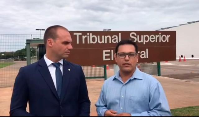 Eduardo Bolsonaro Juiz rocha cubas