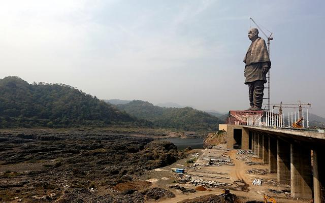The Statue of Unity will be dedicated on Wednesday - Copyright 2018 The Associated Press. All rights reserved