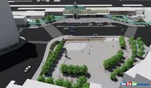 竹市大車站計畫首部曲 寬闊步行廣場站前現身