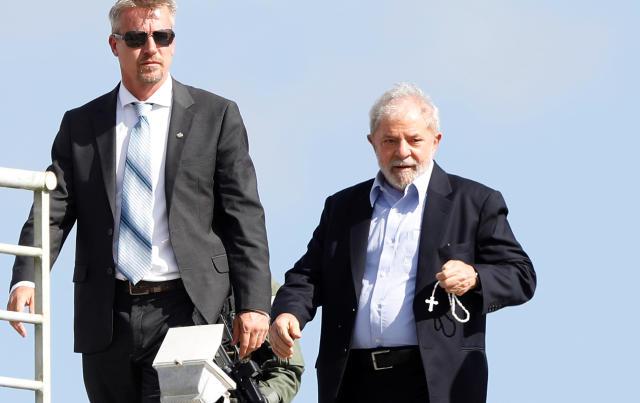 Novas imagens vazadas mostram que Lava Jato não confiava nas delações de Leo Pinheiro, ex-presidente da OAS e pivô da prisão de Lula (Foto: REUTERS/Rodolfo Buhrer)