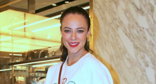 Paolla Oliveira se pronunciou através de sua conta no Instagram sobre o vídeo atribuído à ela (foto: Agnews)