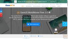 直覺好用又免費的EaseUS MobiMover Free 3.0 讓您輕鬆的備份或是移轉iOS資料