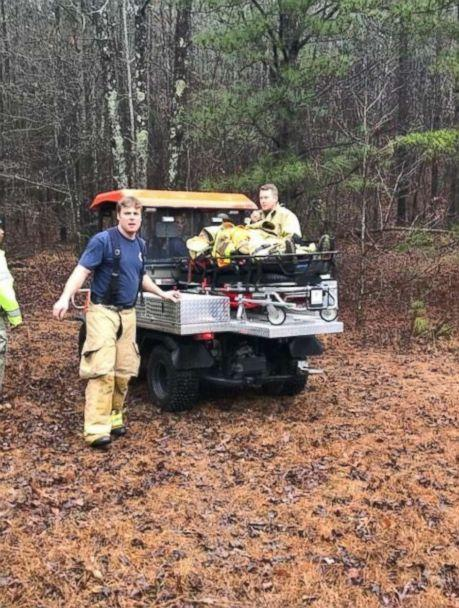 PHOTO: Lisa Holman was rescued on Feb. 11, 2018 after searchers and volunteers went out on a second day of searching for her. (Courtesy Ray Franklin)