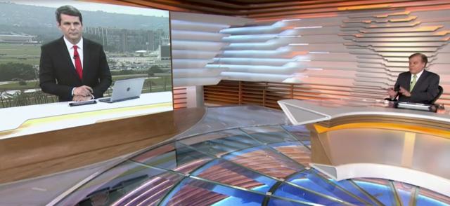 主持人说,在一个已经暴力的国家中,选择是不幸的(照片:Playback / TV Globo)