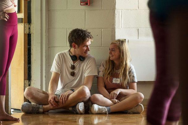 PHOTO: Bo Burnham and Elsie Fisher in a scene from 'Eighth Grade.' (A24)