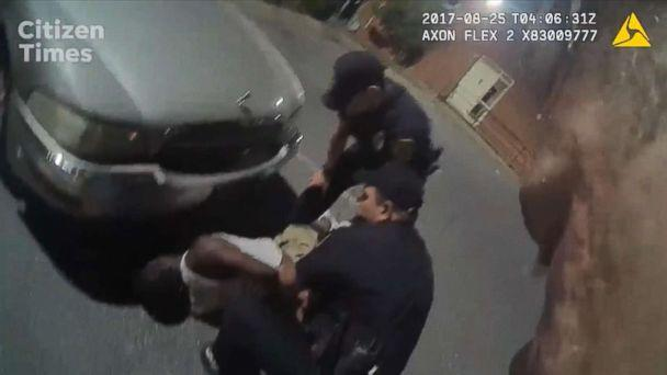 PHOTO: The FBI is launching an investigation into the force police used on Johnnie Rush, after he was stopped for jaywalking in in August 2017 in Ashville, N.C. (ABC News)
