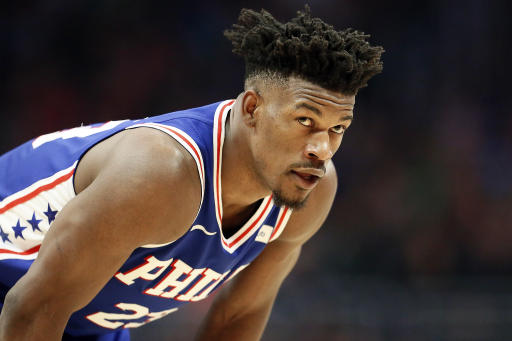 Jimmy Butler challenging Brett Brown, 76ers' offensive system 201901051928701374809