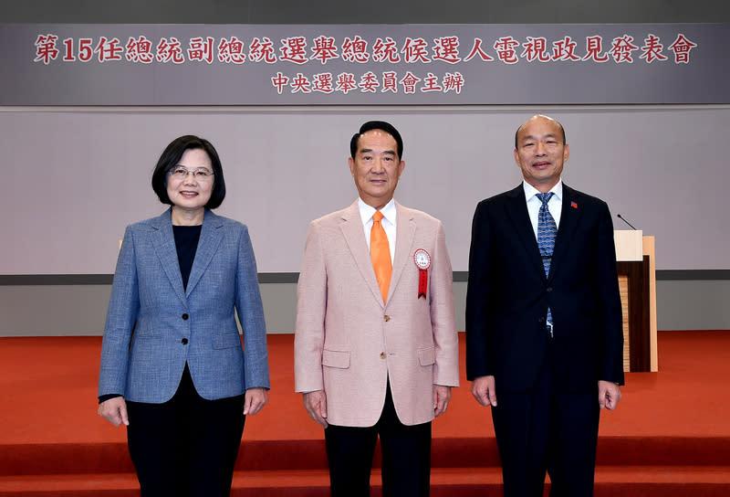 第一場總統電視政見發表會誰表現最好?