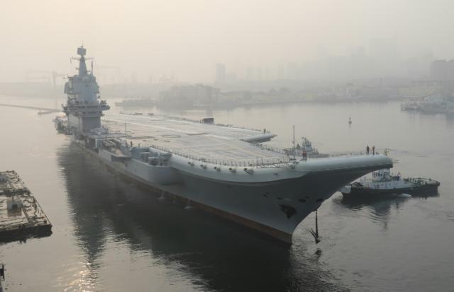 中国确认航母驶过台湾海峡