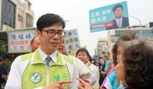 高雄市長最新民調 陳其邁仍然技壓群雄