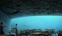 海底餐廳「UNDER」帶你深入冰冷險峻的北大西洋,一同向海洋及挪威岩岸致敬