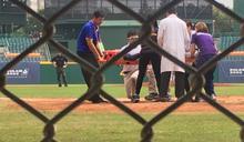 世大運棒球10比0扣倒墨西哥 3台將遭觸身、張皓緯倒地送醫
