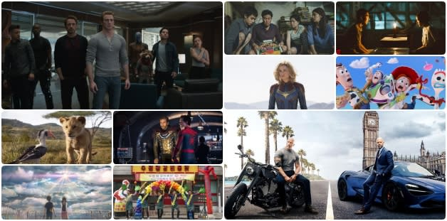 【Yahoo十大回顧】2019年度最多人搜尋的爆紅電影