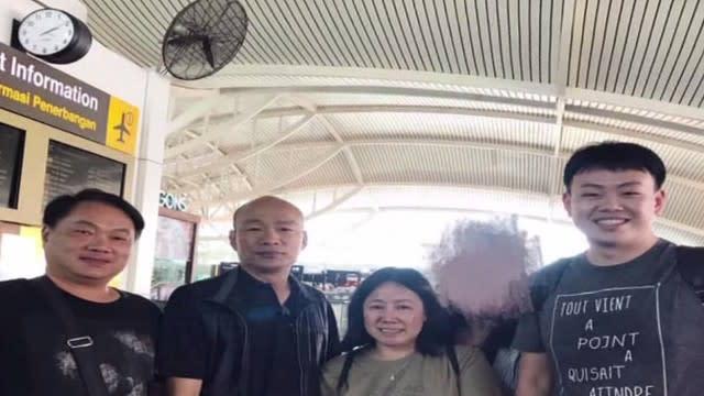 度假惹議! 峇里島機場捕獲野生韓國瑜