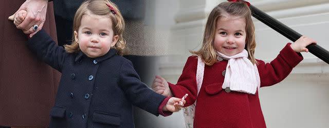 兩歲夏洛特小公主已有英女皇的氣場!不僅外型像餅印,就連頭腦都像她