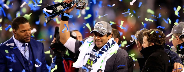 Seahawks humiliate Broncos in Super Bowl XLVIII rout. (Getty Images)