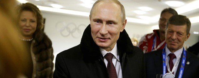 One place Putin can't control during Olympics