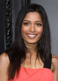 Freida Pinto Re-opens Liberty