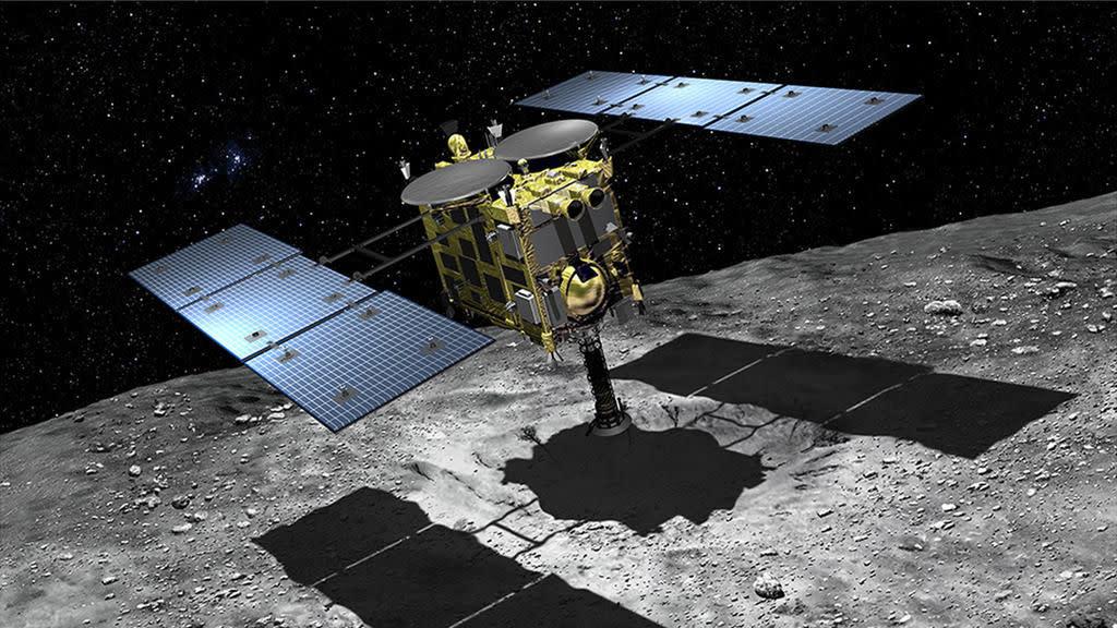 JAXA 確認了 Hayabusa 2 順利在 Ryugu 的表面上炸出了個 10m 的大坑