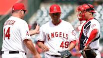 RADIO: Scioscia on Angel pitching
