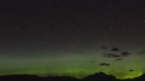 Northern Lights Spotted Over Montana's Glacier National Park