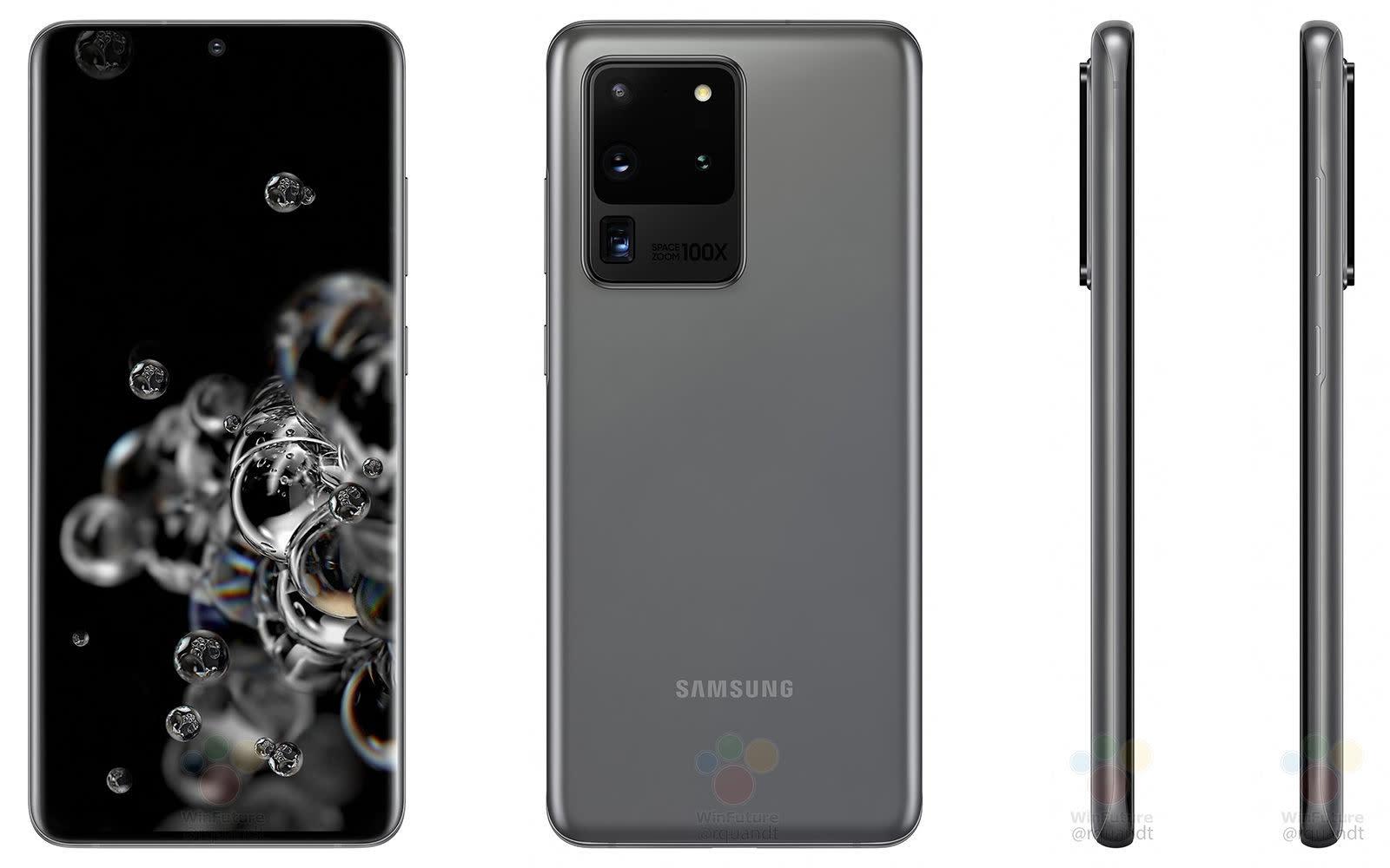 Samsung Galaxy S20 Ultra 曝光,將帶來 100 倍「Space Zoom」變焦