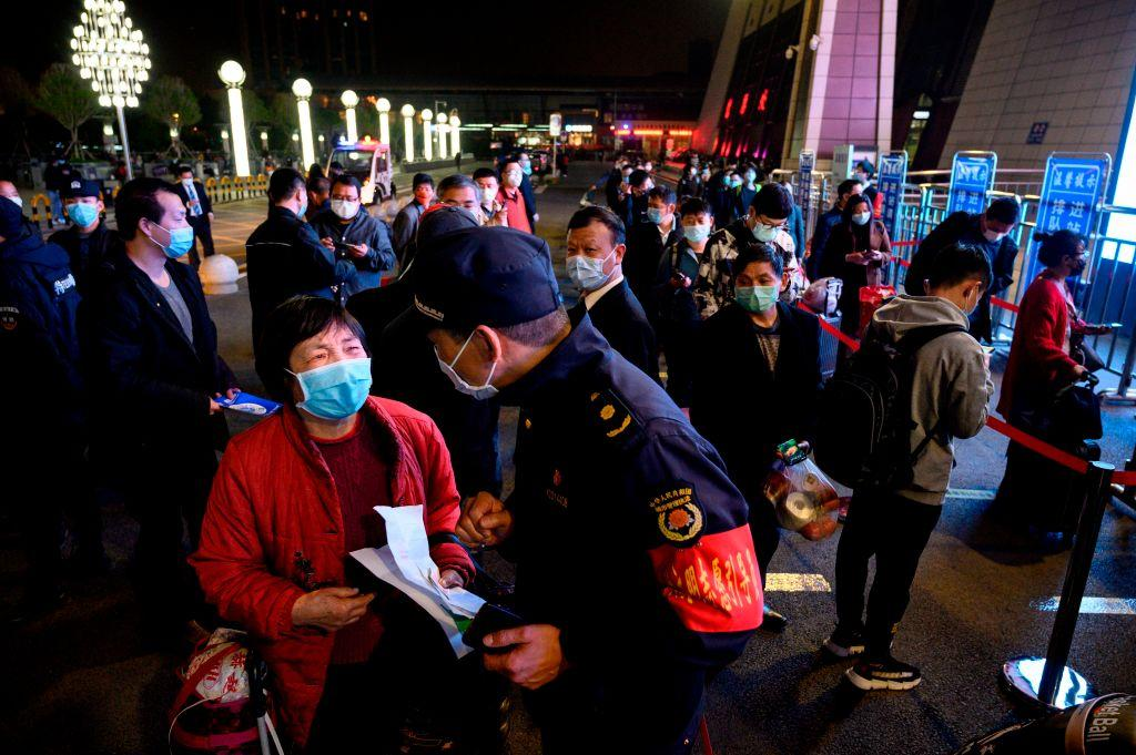 武漢解封 當局料今日逾2萬人坐火車往珠三角地區