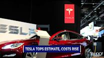 Tesla tops estimates; GoPro falls; LinkedIn leaps