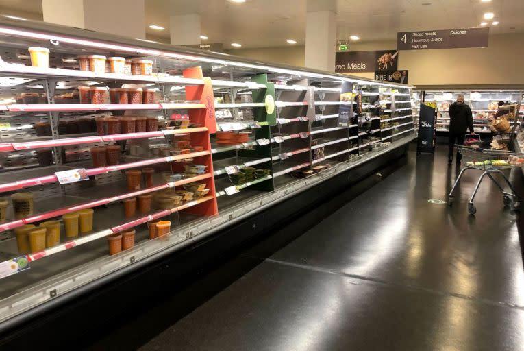 英國脫歐後遺症 北愛爾蘭超市現缺貨潮