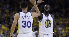 835b44a84637 Steph Curry and the Warriors make light work of Trail Blazers in Game 1
