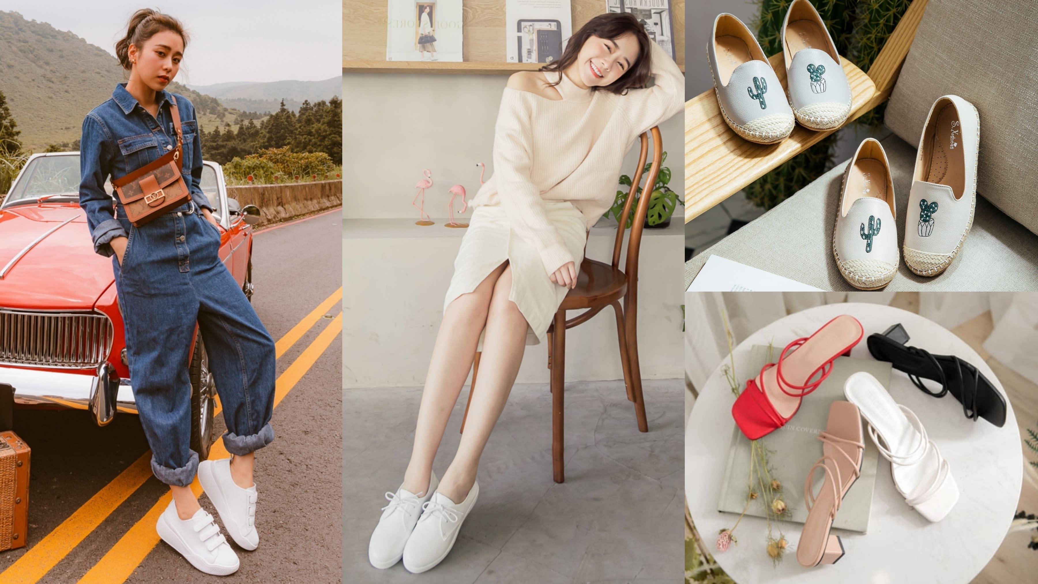 夏日美鞋推薦清單!小白鞋or草編鞋?這7款出鏡率最高