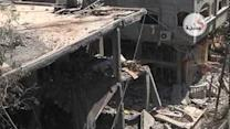Mosque Near Gaza Refugee Camp Destroyed