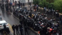 Pro-Palestinian Demonstrators Target Paris Synagogue