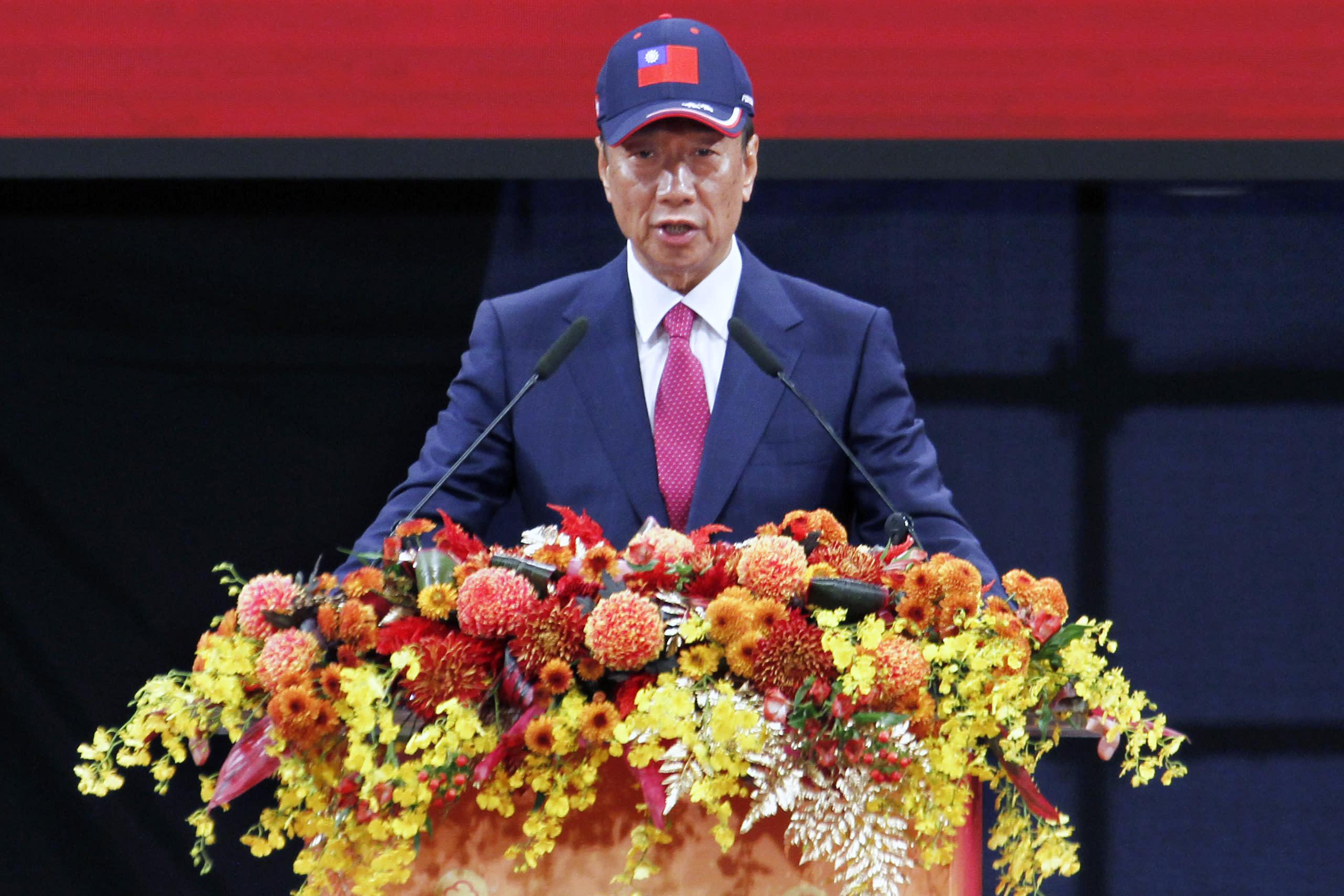 挺核能的中華民國派郭台銘不選了,然後呢?