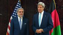 Kerry swoops into Afghanistan amid election deadlock