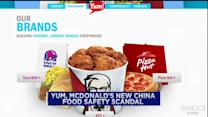 McDonald's, Yum! face new China food scandal; Hasbro mixed results; Reynolds American tumbles on verdict