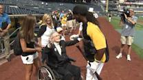 100-year-old meets McCutchen
