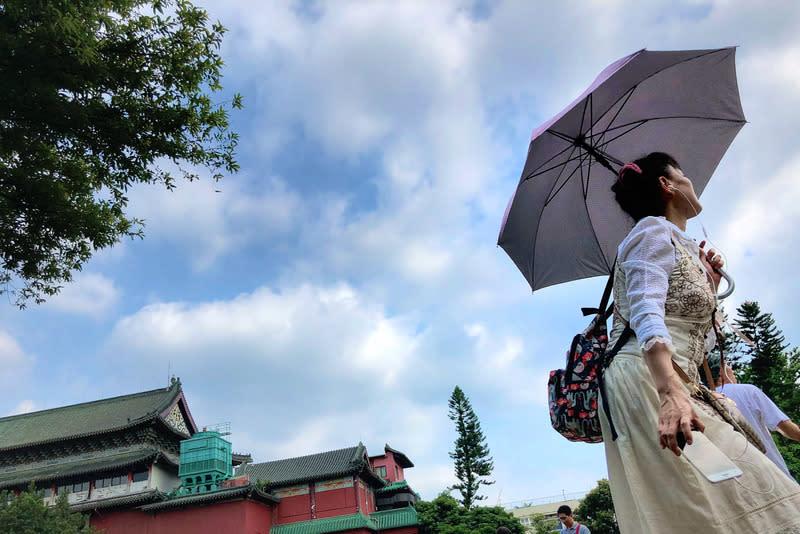 高溫悶熱 午後山區東台局部雨